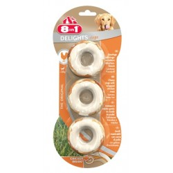 8in1 Delights Bones Rings - Kosteczki ringi do żucia 3szt