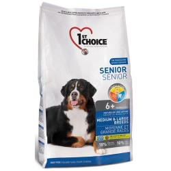 1st Choice Senior Dog Mature or Less Active Medium & Large Breeds 14kg