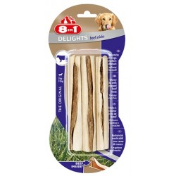 8in1 Beef Delights Sticks 3szt
