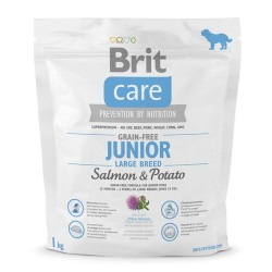 Brit Care Grain Free Junior Large Salmon & Potato 1kg