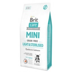Brit Care Grain Free Mini Light & Sterilised 2kg