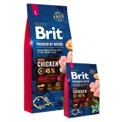 Brit Premium By Nature Adult L Large 3kg