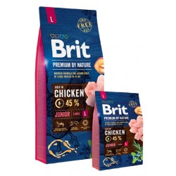 Brit Premium By Nature Junior L Large 15kg