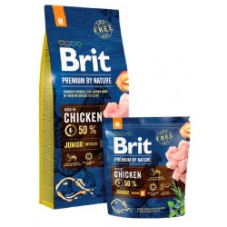 Brit Premium By Nature Junior M Medium 3kg