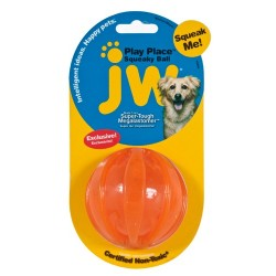 JW Pet Squeaky Ball Medium [43606]