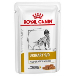 Royal Canin Veterinary Diet Canine Urinary Moderate Calorie saszetka 100g