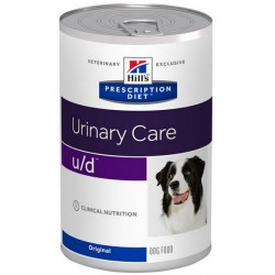 Hill's Prescription Diet u/d Canine puszka 370g