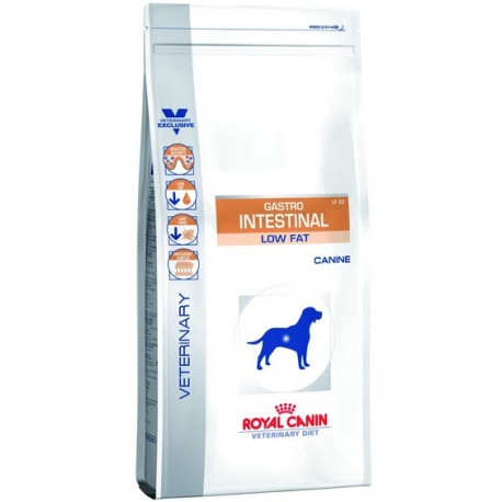 Royal Canin Veterinary Diet Canine Gastro Intestinal Low Fat LF22 1,5kg