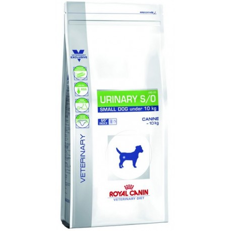 Royal Canin Veterinary Diet Canine Urinary S/O Small Dog 4kg
