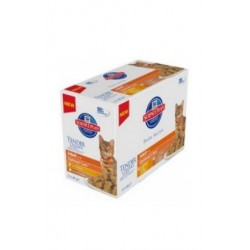 Hill's Feline Adult Chicken & Turkey Optimal Care MULTIPAK Poultry saszetka 12x85g