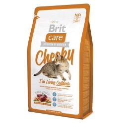 Brit Care Cat New Cheeky I'm Living Outdoor Venison & Chicken 2kg